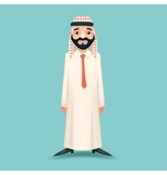 Realistic businessman sale presentation cartoon vector