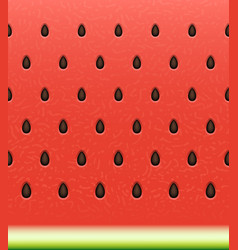 Seamless watermelon texture background vector