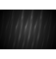 Black abstract stripes background vector