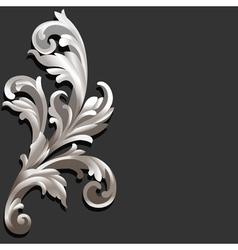 3d floral vector