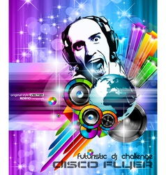 Music club posters vector