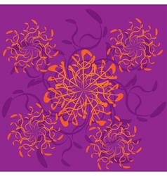 Abstract ornament vector image vector image