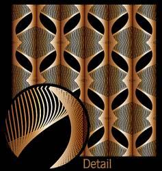Waveform patterns vector