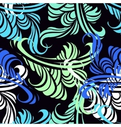Seamless pattern in cool vector