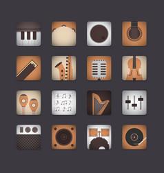 411retro user interfaceVS vector image