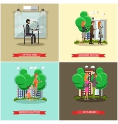 Set of modern gadgets for daily life vector