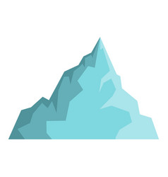 Iceberg icon isolated vector