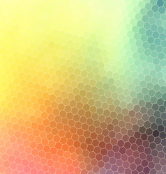 bright abstract pattern polygons vector image