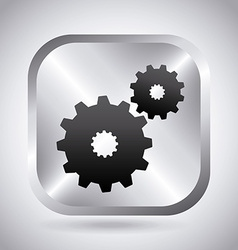 setup button vector image
