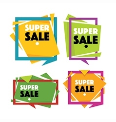 sale templates vector image