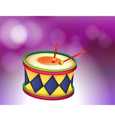 A percussion instrument vector