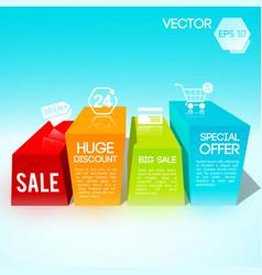 big sale design template vector image