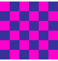 Cosmos Purple Blue Pink Chess Board Background vector image vector image