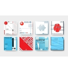 Cover brochures set vector image vector image
