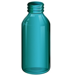 A medical bottle vector