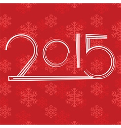 Red new year background vector