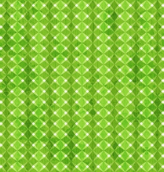 Green rhombus seamless pattern with grunge effect vector