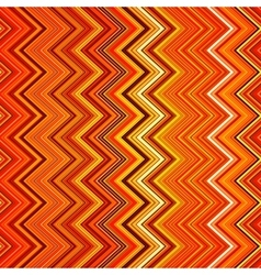 Abstract red orange white and black zig-zag vector