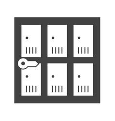 Lockers vector