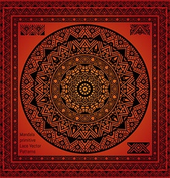 Mandala Hindu symbol vector image vector image