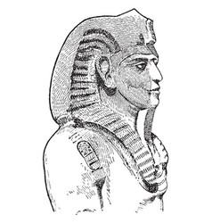 Merneptah vintage vector