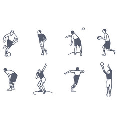 Set of sports vector