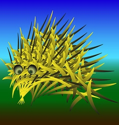 Abstract urchin vector