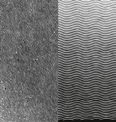 Engraving texture vector