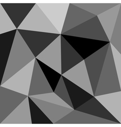 Grey triangle background or pattern vector image vector image