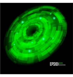 abstract techno circle background eps 10 vector image vector image