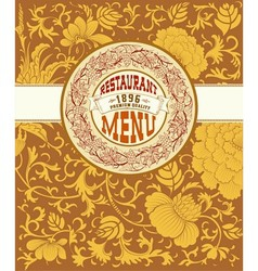 000 menu card vector image
