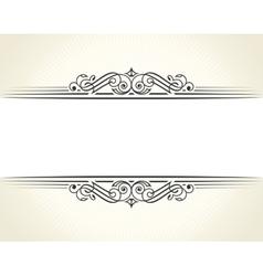 Banner islam ethnic design White Invitation vector image