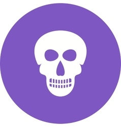 Face Skeleton vector image vector image