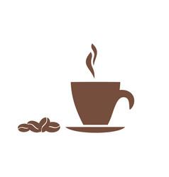 Mug coffee vector