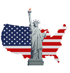 Symbol of america vector