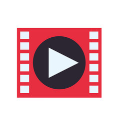 video media player vector image vector image