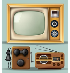 Vintage Electronics vector image vector image