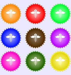 Health care icon sign Big set of colorful diverse vector image