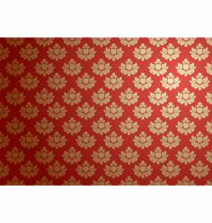 Gold and red glamour pattern vector