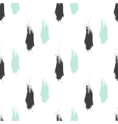Seamless grunge pattern brush strokes texture vector
