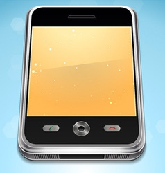 Realistic cell phone vector