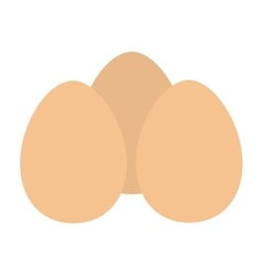eggs isolated icon design vector image