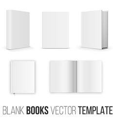 Book set vector image vector image