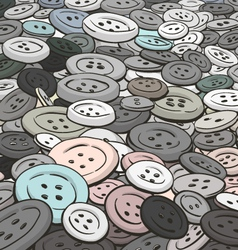 buttons background Cartoon style vector image vector image