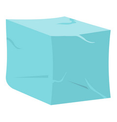Ice icon isolated vector
