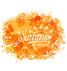 Summer background of holidays design and vector