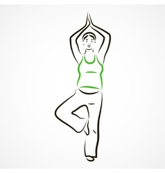 Tree pose vector