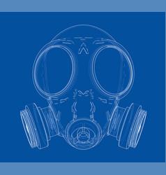 Gas mask vector