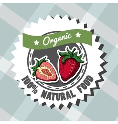 Natural Food 4 vector image vector image