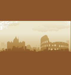 roma vector image vector image